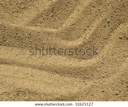 Sand background. Natural yellow abstract