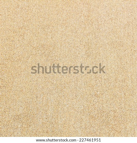 Sand background on the beach - stock photo