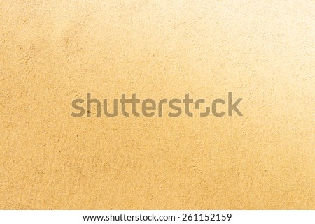 Sand background textures - Vintage effect and sun flare filter processing - stock photo