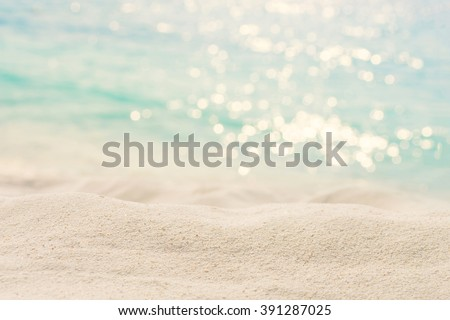 sand beach - stock photo