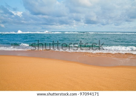 sand beach and sea background