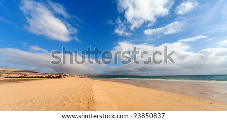 Sand beach in Grand Canary island