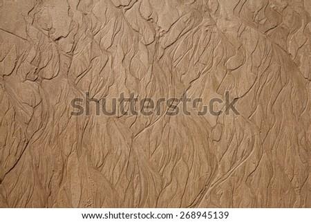 Sand beach pattern - stock photo