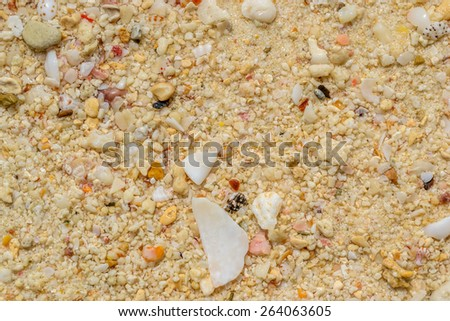 Sand beach texture backgrounds - stock photo