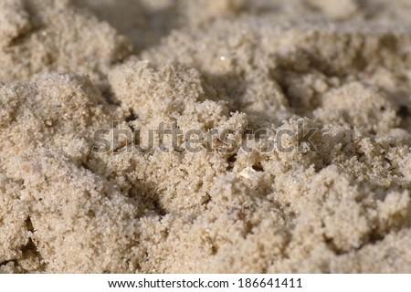 sand close up - stock photo
