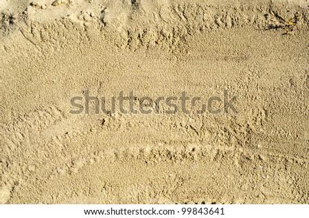 sand closeup as texture - stock photo