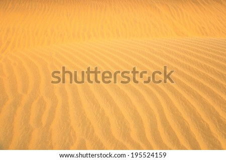 Sand Dune texture background / Sand Dune 	 	 - stock photo