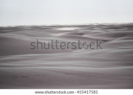 Sand Dunes in Brazilian National Park