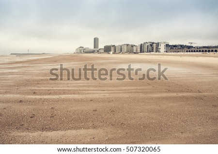 sand dunes on North Sea coast