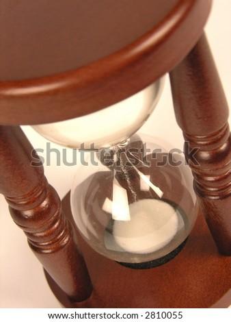 sand-glasses upper - stock photo