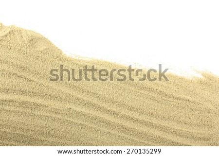 sand isolated - stock photo