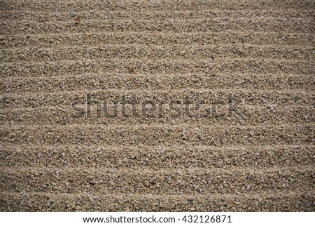 sand japan nature backgrounds and textures - stock photo