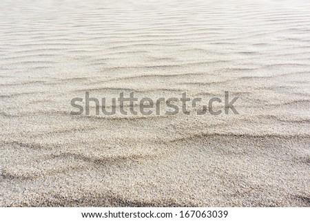 Sand on the beach - stock photo