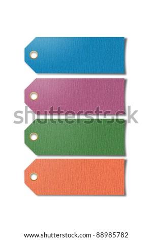 sand paper stick on white background - stock photo