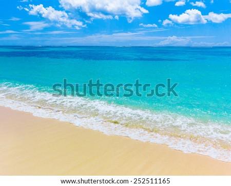 Sand Paradise Beach  - stock photo