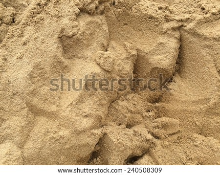sand pattern for construction - stock photo