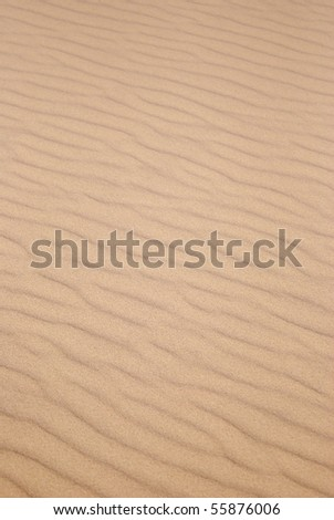 Sand Pattern Vertical - stock photo