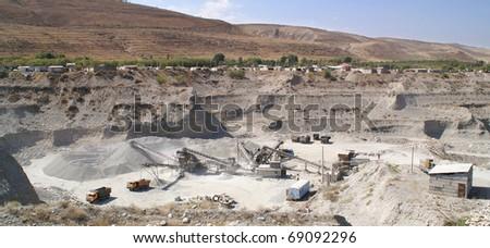 sand-pit - stock photo