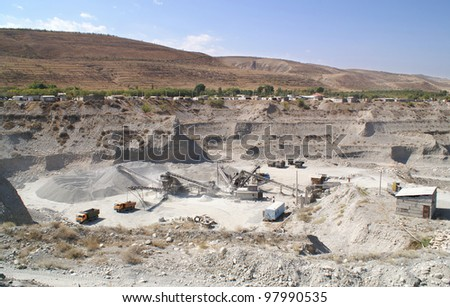 sand-pit - stock photo