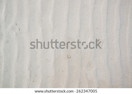 Sand ripple texture ideal for background and texture - stock photo