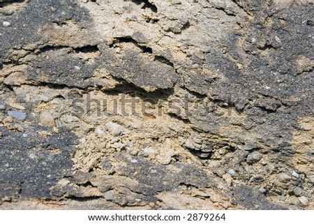 Sand-stone background - stock photo
