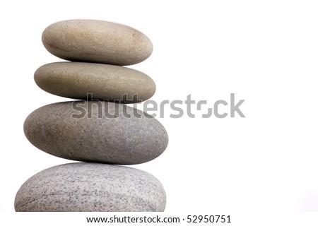 sand stones - stock photo