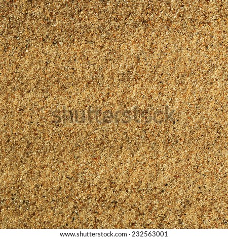 Sand texture as a background. Close up - stock photo