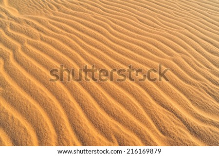 sand texture at white sand Muine,Vietnam  - stock photo