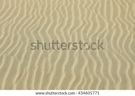 Sand Texture. Brown sand. Background from fine sand. Sand background - stock photo
