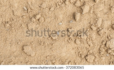 Sand texture from sand pile for construction. - stock photo