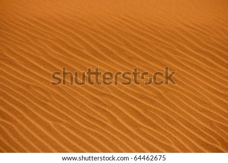 Sand texture in Sossusvlei desert, Namibia - stock photo