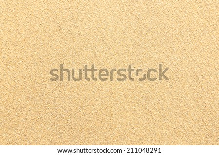 Sand texture. Sand beach for background. Top view - stock photo