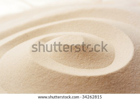 sand texture; summer concept - stock photo