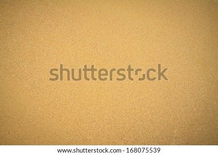Sand texture. Top view.  - stock photo