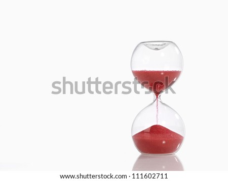 Sand Timer - stock photo