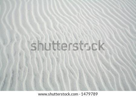 Sand Waves - stock photo