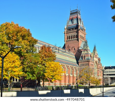 Sanders Theater and Memorial Hall building, Harvard University