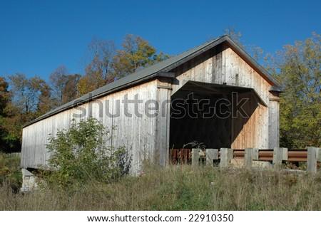 Sanderson Bridge, Vermont - stock photo