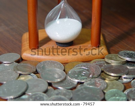 Sandhours - stock photo