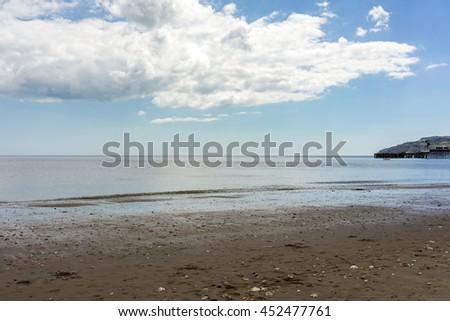 Sandown beach - stock photo