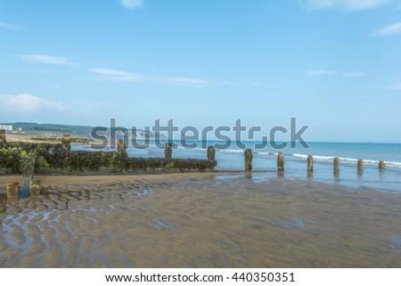 Sandown Isle of Wight - stock photo