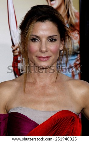 "Sandra Bullock at the World Premiere of ""All About Steve"" held at the Grauman's Chinese Theater in Hollywood, California, United States on August 26, 2009."