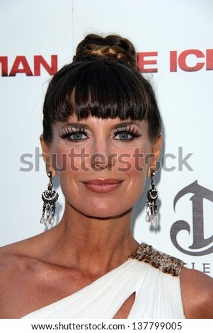 "Sandra Vidal at ""The Iceman"" Red Carpet, Arclight Theater, Hollywood, CA 04-22-13"