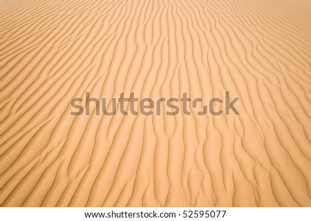 Sands in Jordan, may be used as texture - stock photo