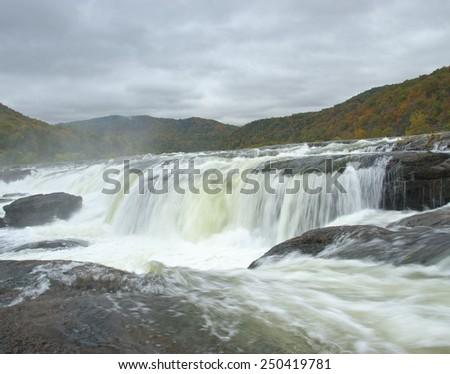 Sandstone Falls - stock photo
