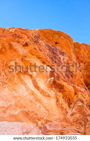 Sandstone Rock Formation - stock photo