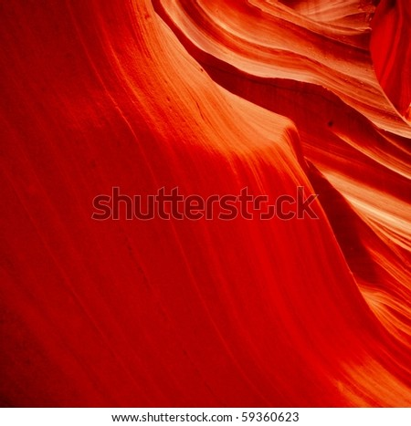 Sandstone waves in Antelope Canyon