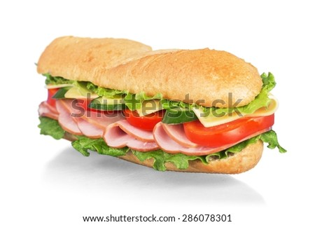 Sandwich, bread, sub.