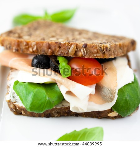 Wholemeal Sandwich Stock Photos, Royalty-Free Images & Vectors ...