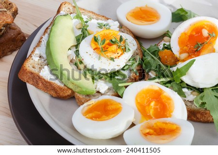 sandwiches - stock photo